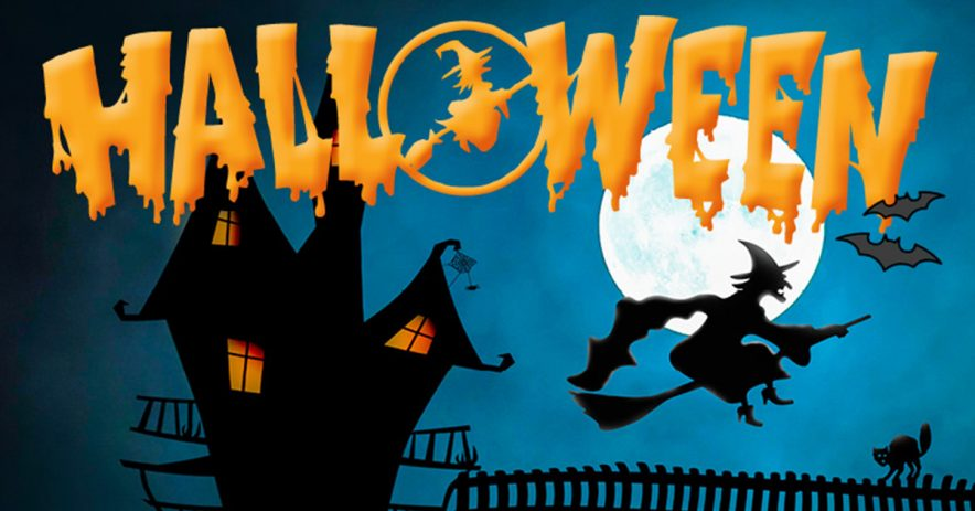 halloween header for noosa marina blog post