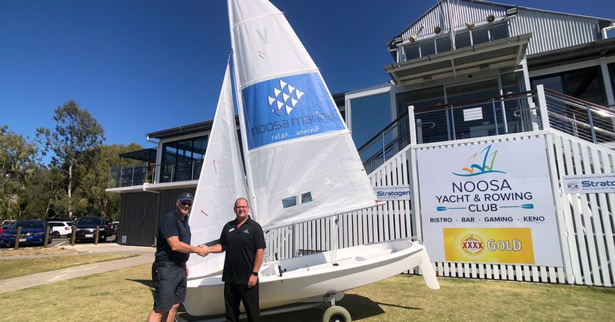 noosa yacht rowing club - sponsor noosa marina