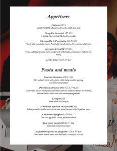noosa marina noosa italian takeaway delivery menu