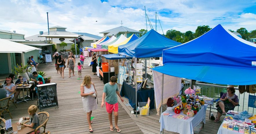 noosa marina markets day