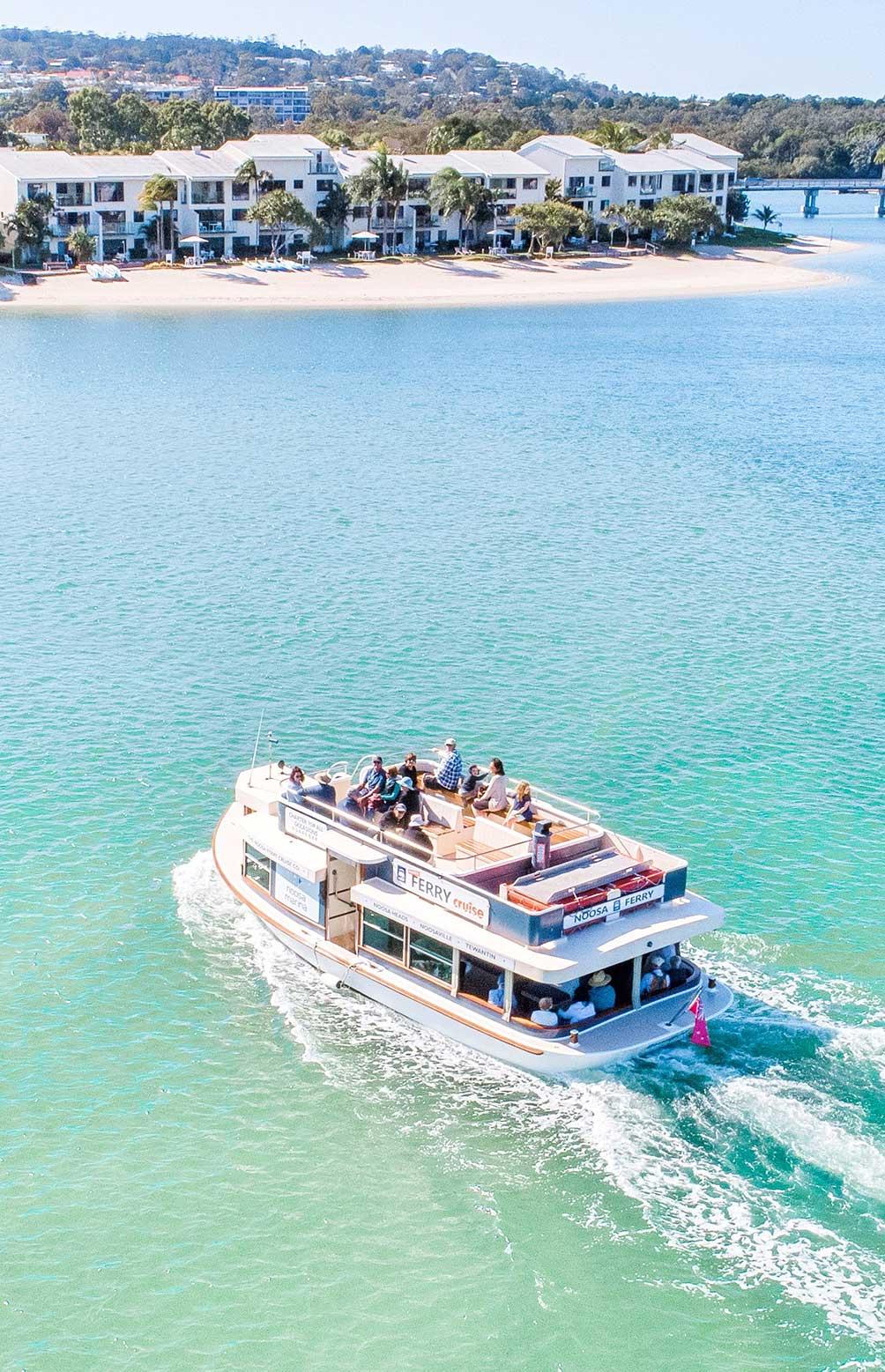 noosa ferry charter