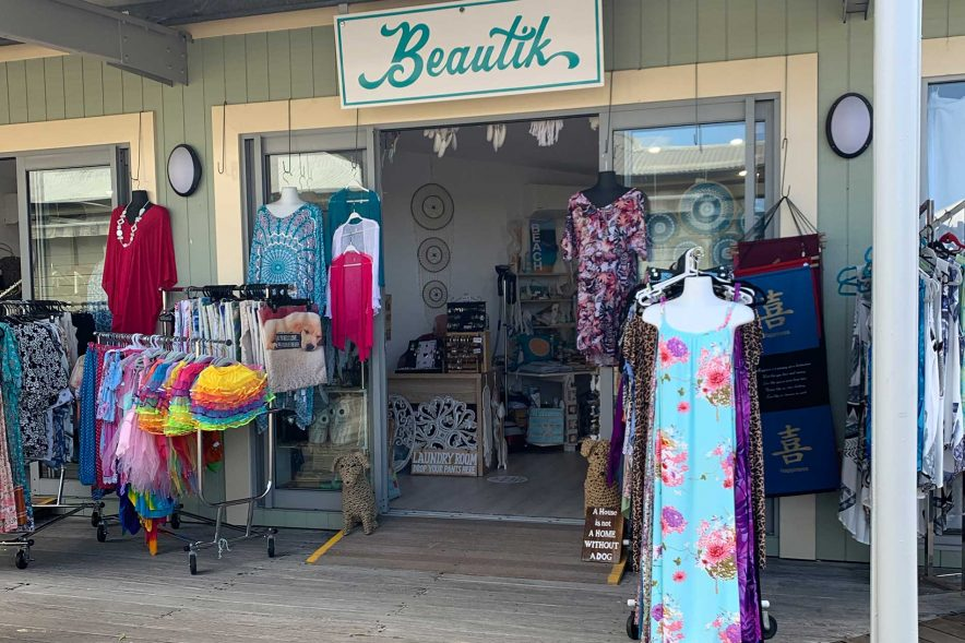 noosa marina beautik store entrance