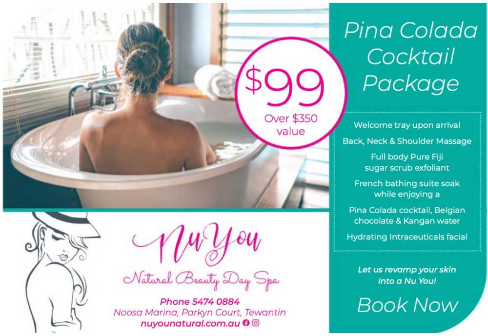 NuYou Pina Colada Cocktail Package